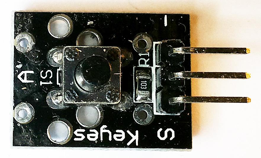 """""""KY-004″ — модуль с кнопкой для Arduino"""