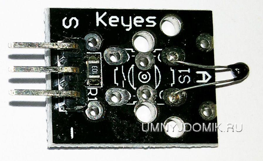 """""""KY-013"""" - аналоговый температурный сенсор для Arduino"""