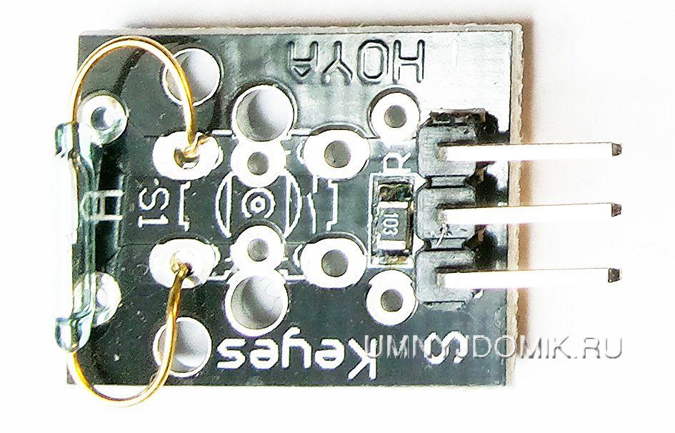 """""""KY-021"""" - модуль с небольшим герконом для Arduino"""