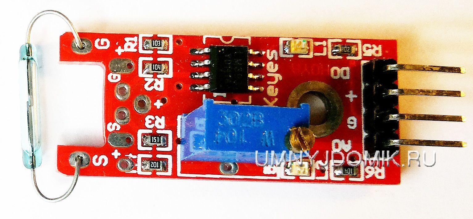 """""""KY-025"""" - модуль с герконом (герметизированный контакт) ARDUINO"""