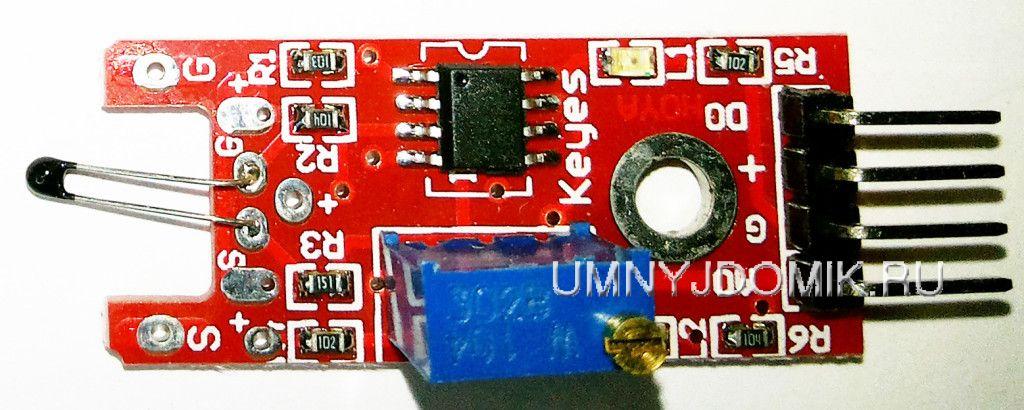 """""""KY-028"""" - температурный датчик с цифровым выходом для Arduino"""