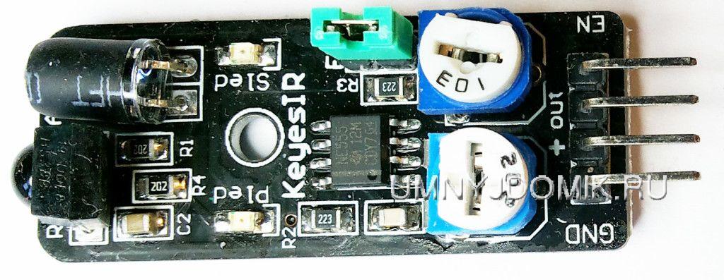 """""""KY-032"""" - модуль с инфракрасным датчиком обнаружения препятствий для ARDUINO"""