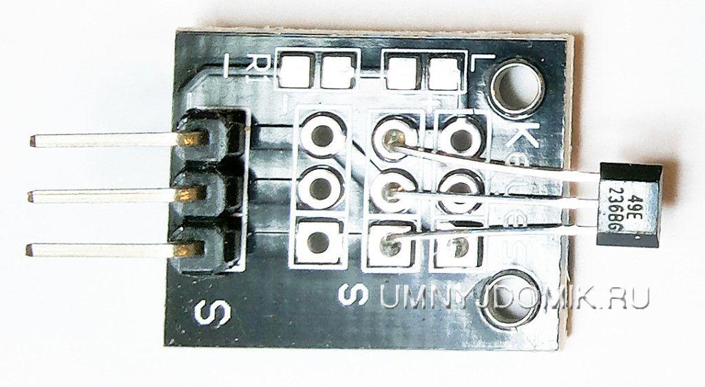 """KY-035"" -модуль с датчиком Холла для Arduino"