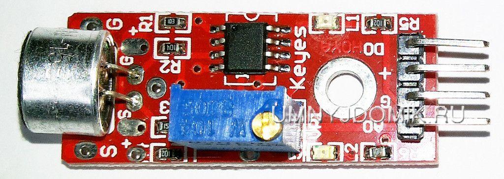 """""""KY-037"""" модуль микрофона с высокой чувствительностью (2 выхода) для Arduino"""