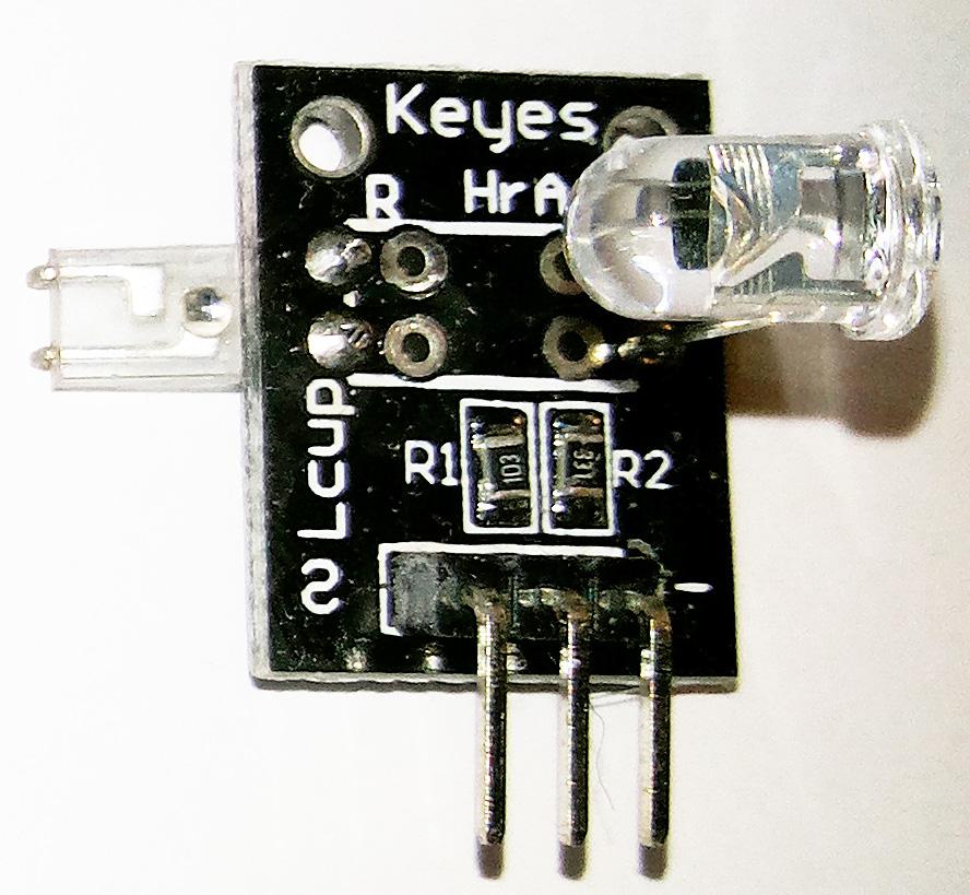 """""""KY-039"""" - датчик для измерения пульса в пальце"""