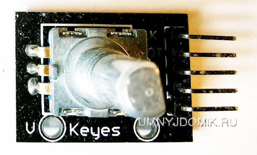 """""""KY-040"""" - модуль с энкодером для Arduino"""