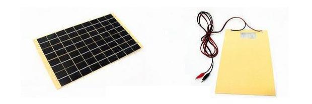 Солнечная панель (10 Вт, 18 В, 570 мА, 410x210x3 мм)