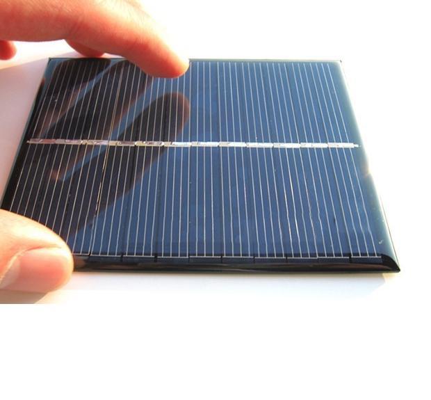 Элемент для солнечных батареи - вид сверху